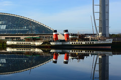 PS Waverley  Glasgow 11-04-2014 (MarkP51) Tags: ps waverley paddle steamer river clyde glasgow