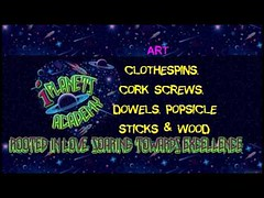 ART | Clothespins, Cork Screws, Dowels, Popsicle Sticks & Wood http://youtu.be/i_LW-CTBlpI iPlanets Academy (Root N Wings Christian Learning Center) Tags: ifttt youtube art | clothespins cork screws dowels popsicle sticks wood iplanets academy