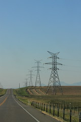 IMG_1258 (TMM Cotter) Tags: alberta ab highway landscape wires high tension electricity towers field lines