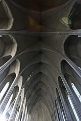 Iceland snapshot (C.Kwakkestein) Tags: iceland vacation nikon d7200 tokina 1120 reykjavik church windows ceiling lens flare