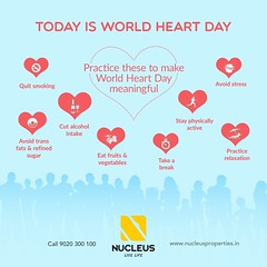 On #WorldHeartDay, let's pledge for healthy heart and positive mind!  #Kerala #Kochi #India #WorldHeartDay #Architecture #Home #Construction #City #Elegance #Environment #Elegant #Building #Beauty #Beautiful #Exquisite #Interior #Design #Comfort #Luxury # (nucleusproperties) Tags: life beautiful kochi worldheartday elegant style health kerala lifestyle india luxury comfort apartment nature architecture interior gorgeous design elegance environment beauty building exquisite view heart city construction atmosphere home living