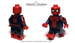 Arachnid Hero V2 - Available on Sat. 10/1 (Phoenix Custom Bricks) Tags: superhero arachnid lego minifig minifigure custom web spider hero