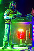 DJ Starscream @ Twins Of Evil Tour, DTE Energy Music Theatre, Clarkston, MI - 10-12-12