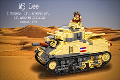 M3 Lee_v2 (Florida Shoooter) Tags: usa lego northafrica armor ww2 1starmoreddivision m3mediumtank