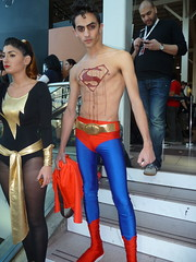 P1080593 (Randsom) Tags: nyc newyork halloween skinny prime dc costume blood cosplay chest superman superhero dccomics superboy spandex comicconvention justiceleague 2012 jla javitscenter superboyprime nycomiccon newyorkcomiccon blackadam