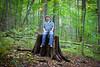 347/365 (Bradley Nash Burgess) Tags: trees selfportrait me forest 35mm project nc woods nikon northcarolina stump joyce 365 nikkor f18 afs kilmer dx joycekilmer joycekilmermemorialforest robbinsville project365 d80 nikond80 365project nikonafsdxnikkor35mmf18