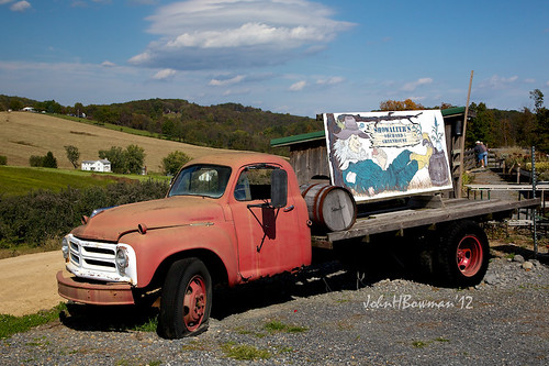 1954 Studebaker Truck, Shenandoah Valley Backdrop