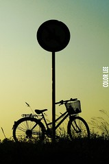 (Color_Lee) Tags: grass bicycle like feeling load