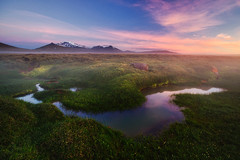 upland moor (Dennis_F) Tags: sunset summer mountain nature wet water colors beautiful berg grass clouds landscape island volcano evening iceland wasser europa europe sonnenuntergang sommer natur north norden glacier berge polar moor gletscher bog landschaft isle farben vulkan abends vulcanic snfell snaefell feucht morast hochmoor islandic lagarfljt hallormsstaarskgur