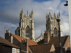 York-2445 (Neil Hobbs) Tags: york day rooftops cloudy yorkminster chimneys