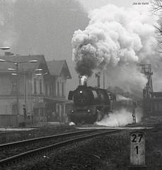 1986-04 Wiessenburg (niek opdam) Tags: 52 deutsche dampflok lausitz reichsbahn baureihe dollnitzbahn