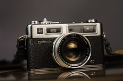 color lens wide rangefinder electro tele filme fotografia aux gs yashica analogica maquina 117 fotografica yashinon