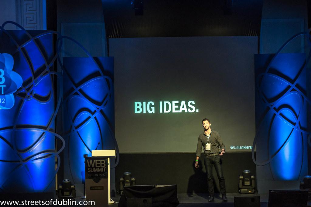 Big Ideas: Web Summit 2012 In Dublin (Ireland)