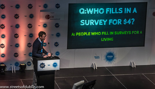 Who Fills In A Survey: Web Summit 2012 In Dublin (Ireland)