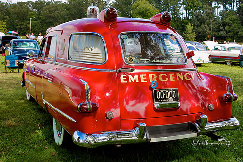 Packard Ambulance by Henney - rear