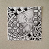 string 21 (shebicycles) Tags: pen ink tile doodle tps zentangle string21