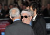 Keith Richards of the Rolling Stones 56th BFI London Film Festival: 'Rolling Stones - Crossfire Hurricanes', gala screening held at the Odeon Leicester Square - Arrivals. London, England