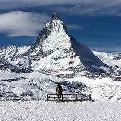 Matterhorn-Cervino (Pilar Azaña Talán ) Tags: snow girl europa chica suiza top nieve summit zermatt matterhorn montaña valais cima cervino cumbre pilarazañatalán copyright©pilarazañatalán