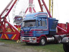 E DANTER & sons (sexyswindler) Tags: fairground trucks funfair lorries