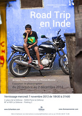 "Expo ""Road trip en Inde"" (louistib) Tags: paris hilton exposition ladfense inde photographies louisthibaudchambon thomasmonnier"