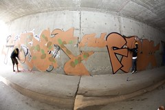 FORGE FLERT AUB (Chasing Paint) Tags: tunnel roller forge outline aub fill actionshot flert 3ek