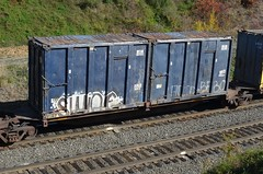 SWINE on NS Trash Train 20121017 Gallitzin PA (rmccallay) Tags: graffiti ns swine trashtrain gallitzintunnel gallitzinpennsylvania