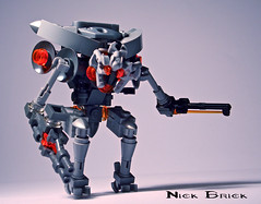 Promethean Knight (Nick Brick) Tags: lego 4 halo knight forerunner promethean nickbrick