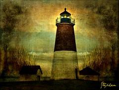 ~ Pt Judith Light House ~ (stephgum32807) Tags: lighthouse texture vermont explore creativecommons ptjudith narragansettrhodeisland lenabemanna
