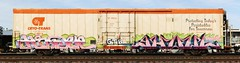 Hindue/Ghoul (quiet-silence) Tags: railroad art train graffiti railcar graff freight reefer ghoul wh gtb fr8 ghouls cryx cryo a2m hindue cryotrans cryx5303