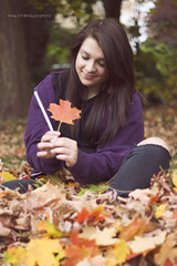 Playing in the leaves (kaylarandolphphoto) Tags:
