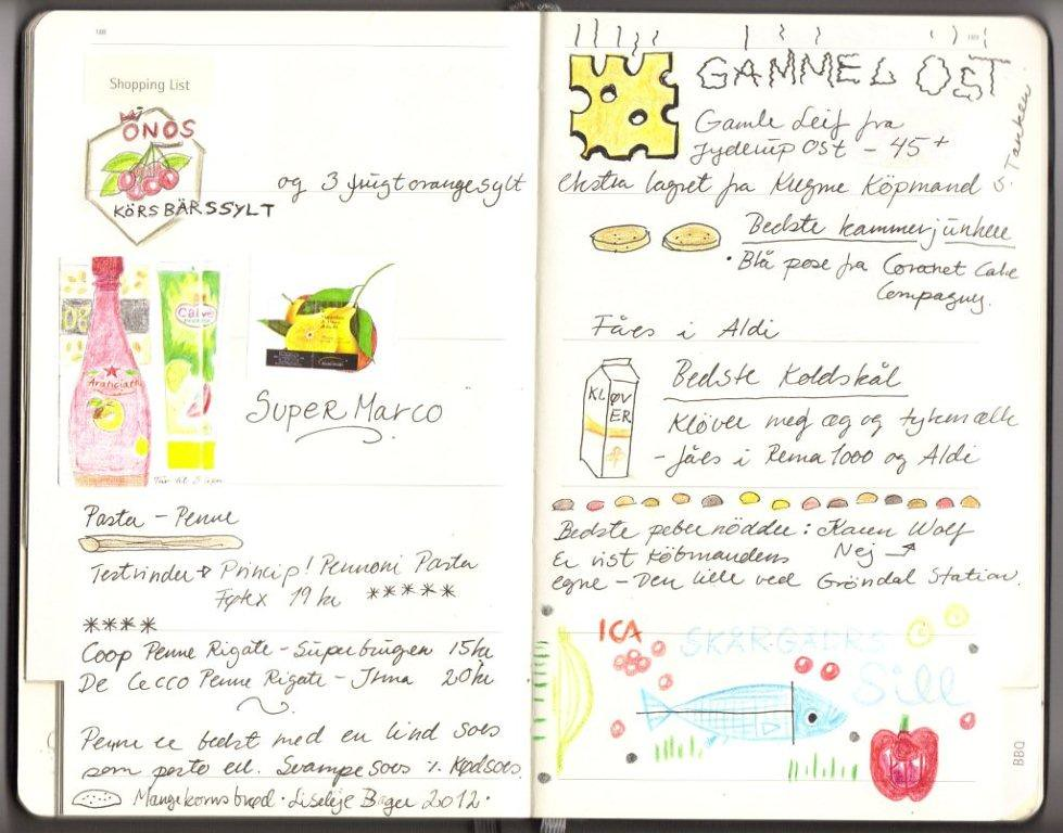 The World\'s Best Photos of moleskine and recipe - Flickr Hive Mind