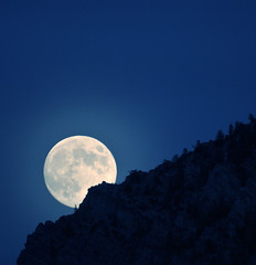 Moon Rising AF Canyon October 28 2012 25 (houstonryan) Tags: moon art print lens photography rising mirror evening october photographer sundown ryan houston free fork canyon full just photograph american lance after 28 mm 500 rise lunar gibbous waxing 97 2012 freelance nearly houstonryan