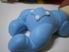 Baby no Soninho (3) (Kelly arte e costura) Tags: artesanato biscuit trabalhosmanuais lembrancinhas chaveiros porcelanafria