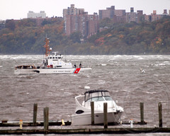 2012 Hurricane Sandy - USCGC SAILFISH (WPB 87356) US Coast Guard Cutter on the Hudson River, New York City (jag9889) Tags: city nyc rescue ny newyork storm work coast boat wpb us search ship manhattan sandy hurricane homelandsecurity guard vessel super tugboat hudsonriver tug emergency situation cutter lawenforcement waterway 2012 washingtonheights uscg wahi lmr uscoastguard workboat superstorm wpb87356 87356 october2012 livingmarineresources jag9889 y2012 hurricanesandy superstormsandy