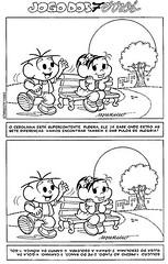 7 erros nível Fácil - Diversão com a Turma da Mônica. (Atividades Educação Infantil) Tags: passatempos turmadamônica jogodos7erros