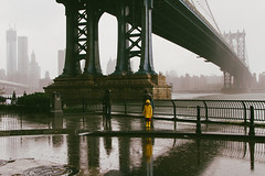 Hurricane Sandy, the next morning in DUMBO (Barry Yanowitz) Tags: nyc newyorkcity ny newyork storm brooklyn flickr dumbo event nycity 718 downunderthemanhattanbridgeoverpass frankenstorm hurricanesandy