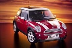 Mini Mini (Pete Rocks) Tags: new light sunset red painting 50mm model nikon mini torch strobist d7000