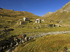 009 - Dondena houses (TFRARUG) Tags: mountain lake alps cross hike aosta ibex avic dondena
