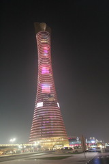 The Torch Doha (p_dude) Tags: tower architect torch engineer doha qatar 300m december2006 thetorch 5starhotel arep 15thasiangames aspiretower ovearupandpartners torchtower hadisimaan khalifasportstower dohaolympictower doha'stallestbuilding wwwhadisimaancom
