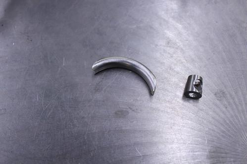 brake bridge parts before brazing
