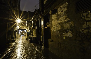 In the Avenues and Alleyways.