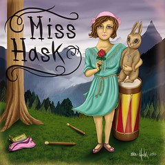 Miss hask en su versin mas romantica 2 (Miss Hask ) Tags: art illustration photoshop arte venezuela caracas miss ilustracion hask