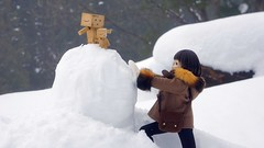 Making snowman 2 (nines_graphics) Tags: winter landscape doll snowscape danboard nex7