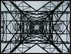 Tower Of Steel (Jon 89) Tags: uk england sky plant tower english public electric metal skyline triangles danger rural walking grey countryside photo vanishingpoint site spring big track day pattern village view britain squares near path walk steel patterns united country great towers under shapes large structures kingdom scene structure pylon trail generator cables wires massive frame gb electricity april british below tall connected underneath shape pylons effect footpath powerstation hertfordshire coils substation towering upwards supply herts 2011 nationalgrid stippolyts littlewymondley