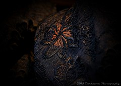 THE WARMTH OF LACE (Darkmoon Photography) Tags: black glamour lace bra warmth lingerie backlit tabletop sheisdoinglaundry