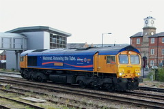 66720_0910_Derby (johnwoolley@btopenworld.com) Tags: diesel derbyshire derby class66 2ndoctober 66720