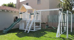 IMG_1250 (Swing Set Solutions) Tags: set play swings vinyl slide structure swing solutions playset polyvinyl