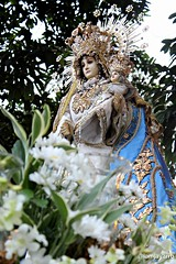 Nuestra Senora de las Flores (@iamjayarrb) Tags: santa church catholic maria mary philippines saints virgin manila filipino procession poon santo pinoy intramuros marian pilipinas 2012 immaculate immaculateconception igmp prusisyon grandmarianprocession