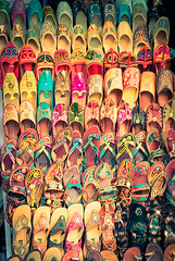 Shoe Shop (Sunpanther) Tags: india shoes colorful asia agra slipper uttarpradesh chappal ifttt jhuti