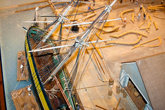 CU466 Model of Sailing Ship Dockyard (listentoreason) Tags: wood usa art philadelphia america canon model play unitedstates pennsylvania favorites places pennslanding artproject scalemodel woodmodel ef28135mmf3556isusm score30 woodenmodel independenceseaportmuseum philadelphiamaritimemuseum